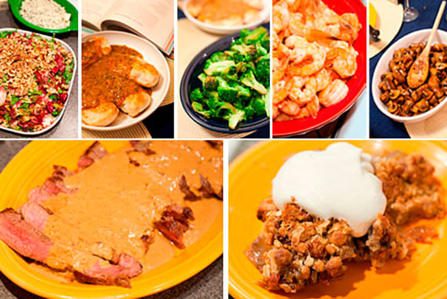Round-up of All Final Dishes