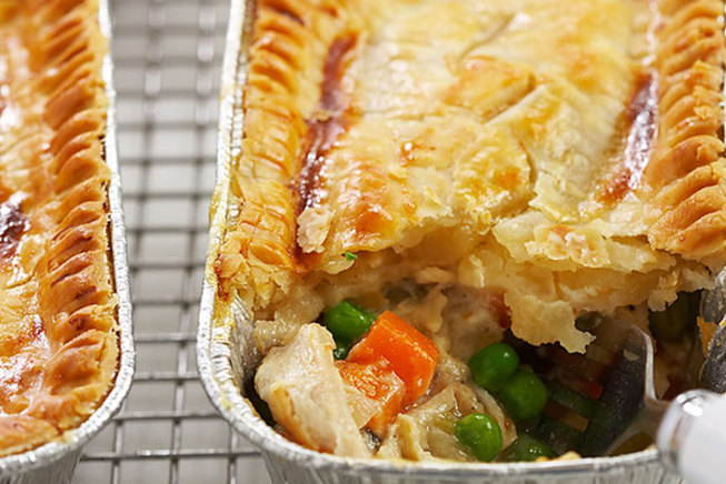Shaping Up Freezer Chicken Pot Pie | The Feed