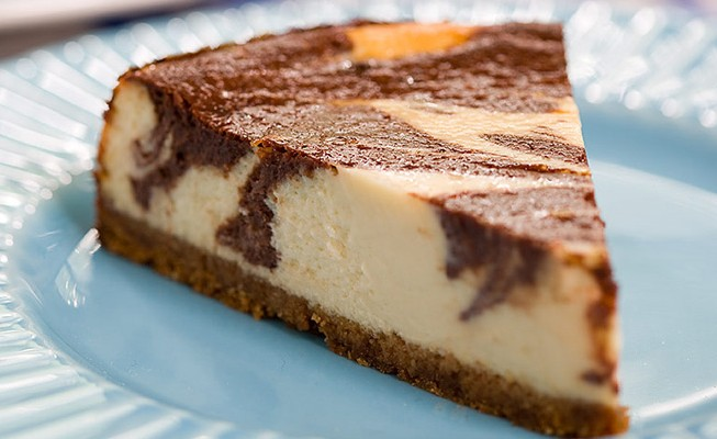 Marble Cheesecake | Food I want in my mouth | Pinterest