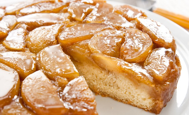 Secrets to Apple Upside-Down Cake | The Feed
